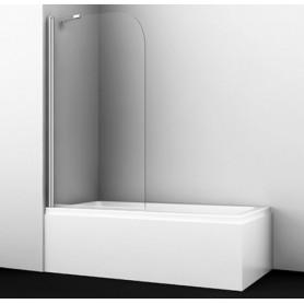 Шторка стеклянная неподвижная Wasserkraft Leine 35P01-80 Fixed стекло прозрачное