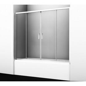 Шторка для ванны Wasserkraft Lippe 45S02-170 стекло прозрачное