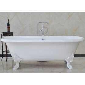 Ванна чугунная Magliezza Patricia 180х83 ножки белые