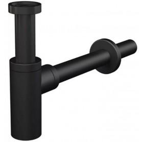 Сифон для раковины AlcaPlast A400BLACK черный матовый