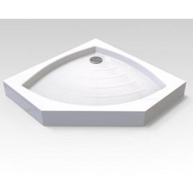Душевой поддон акриловый Veconi TZ-03 100x100 пятиугольный