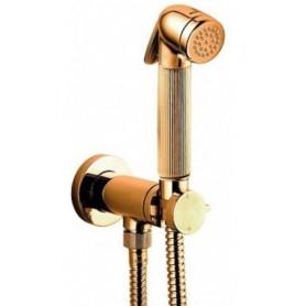 Гигиенический душ со смесителем Bossini Nikita Mixer Set E37008.021 золото