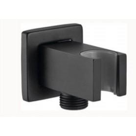 Шланговое подсоединение с держателем лейки M&Z Kit bidet AC700063 чёрный