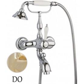 Смеситель Margaroli Classica RU1004AA01GD (цвет золото) для ванны