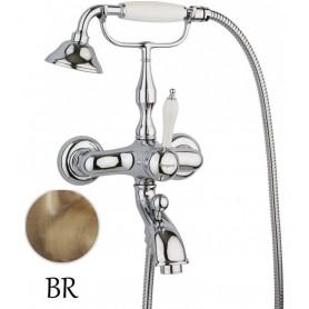 Смеситель Margaroli Classica RU1004AA01BR (цвет бронза) для ванны