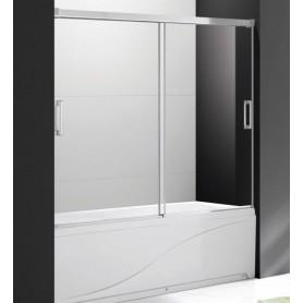 Шторка на ванну Cezares Tandem-Soft-VF-2-200 стекло прозрачное