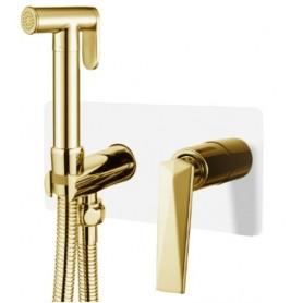 Гигиенический душ Boheme Venturo 387-W белый / золото