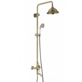 Душевая стойка с изливом Landberg LB-115004 bronze