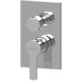 Смеситель для ванны и душа Cezares Ovest-DEV3-01 (хром) скрытого монтажа