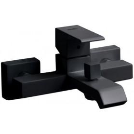Смеситель для ванны Cezares Porta-VM-NOP чёрный матовый