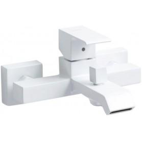 Смеситель для ванны Cezares Porta-VM-BIO белый матовый