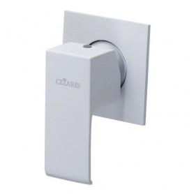 Смеситель для душа Cezares Porta-DIM-BIO белый матовый, скрытого монтажа