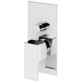 Смеситель для ванны и душа Cezares Porta-VDIM-01 (хром) скрытого монтажа
