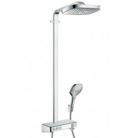 Душевая стойка Hansgrohe 27127000 Raindance Select E 300 3jet Showerpipe термостат