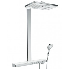 Душевая стойка Hansgrohe 27106400 Rainmaker Select 460 3jet Showerpipe термостат белый/хром