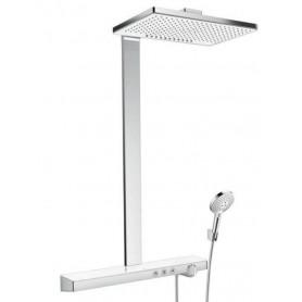 Душевая стойка Hansgrohe 27109400 Rainmaker Select 460 2jet Showerpipe термостат белый/хром