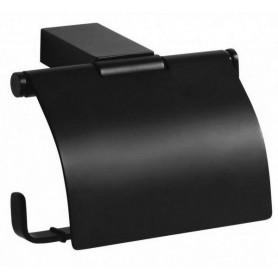 Держатель туалетной бумаги Bemeta Nero 135012010 чёрный матовый