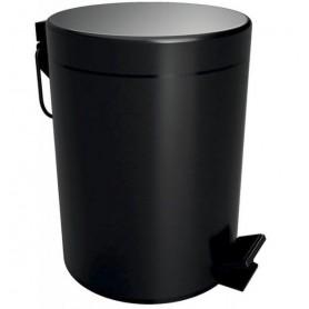 Ведро для мусора 5 л Bemeta Hotel 104315010 чёрное матовое