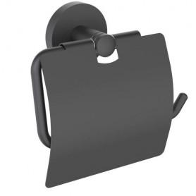 Держатель туалетной бумаги Timo Saona 13042/03 чёрный матовый