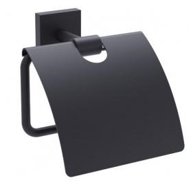 Держатель туалетной бумаги Timo Selene 12042/03 чёрный матовый