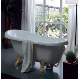 Акриловая ванна Kerasan Retro 05591 bi/oro лапы золото