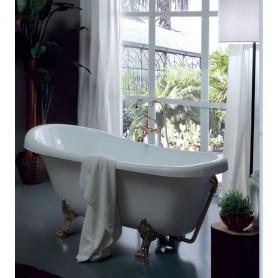 Акриловая ванна Kerasan Retro 105593 bi/br лапы бронза