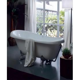 Акриловая ванна Kerasan Retro 105590 bi/cr лапы хром