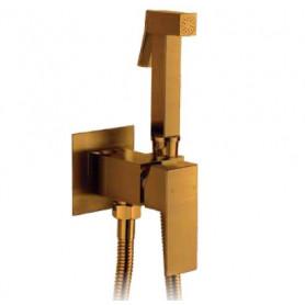 Гигиенический душ Grohenberg GB002 BRONZE со смесителем