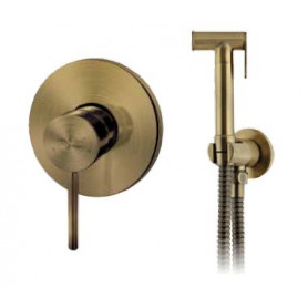 Гигиенический душ Grohenberg GB1003 BRONZE со смесителем