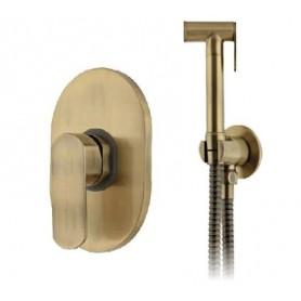 Гигиенический душ Grohenberg GB1002 BRONZE со смесителем