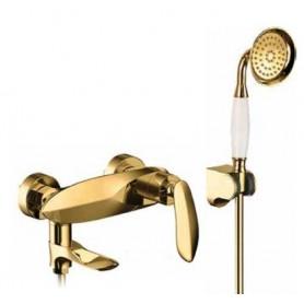 Смеситель для ванны Grohenberg GB8001 GOLD цвет золото