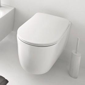 Унитаз подвесной безободковый Kerasan Nolita 531430 белый матовый
