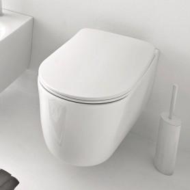 Унитаз подвесной безободковый Kerasan Nolita 531401 цвет белый