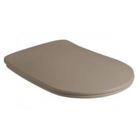 Сидение быстросъемное Kerasan Nolita 539181 коричневый (микролифт)