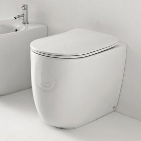 Унитаз приставной безободковый Kerasan Nolita 531801 цвет белый