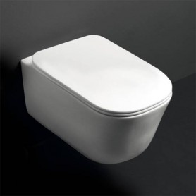 Унитаз подвесной безободковый Kerasan Tribeca 511430 белый матовый