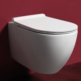 Унитаз подвесной безободковый Simas Vignoni VI18bi цвет белый