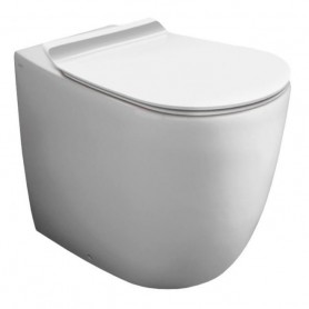 Унитаз приставной безободковый Simas Vignoni VI01bi цвет белый