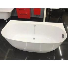 Ванна при стенная Астра Форм Атрия 170х85 из литого мрамора