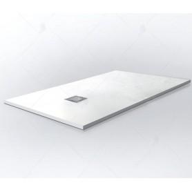 Поддон из литого камня RGW ST-0107W 100x80 цвет белый
