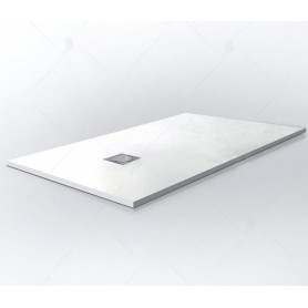 Поддон из литого камня RGW ST-W 120x80 цвет белый