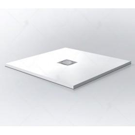 Поддон из литого камня RGW ST-W 100x100 цвет белый