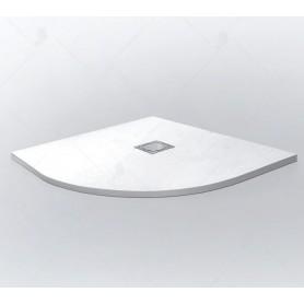 Поддон из литого камня RGW ST/R-W 100x100 цвет белый