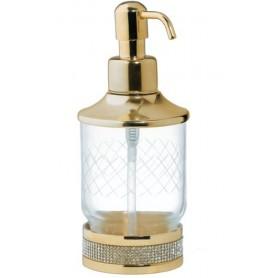 Дозатор настольный Boheme Royale Cristal 10932-G цвет золото