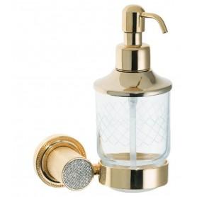 Дозатор настенный Boheme Royale Cristal 10932-G цвет золото