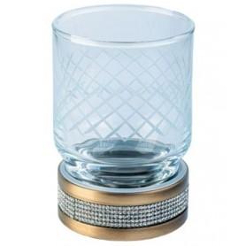 Стакан настольный Boheme Royale Cristal 10931-BR цвет бронза