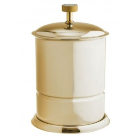 Ведро для ванной Boheme Royale Cristal 10927-G цвет золото