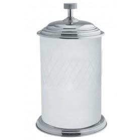 Ведро для ванной Boheme Royale Cristal 10934-CR хром / белый