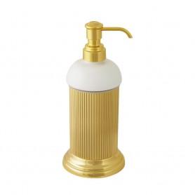 Дозатор настольный Migliore Fortuna 27790/27749 золото (керамика)