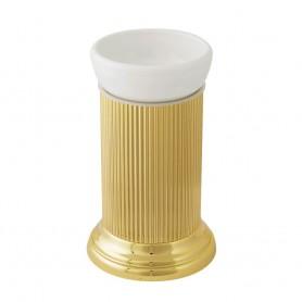 Стакан настольный Migliore Fortuna 27790/27671 золото (керамика)